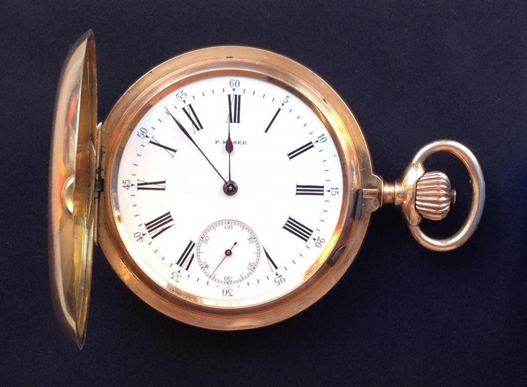 Часы Paul Mozer. Паул Мозер. Золото 56 проба. Цена 290000 р.