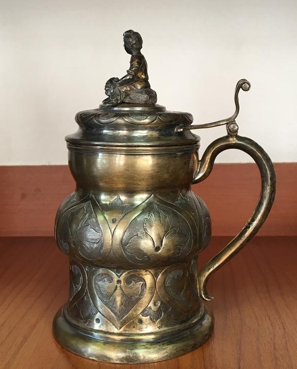 Кружка. Серебро 84 проба. 1862 год. Цена 280000 р.