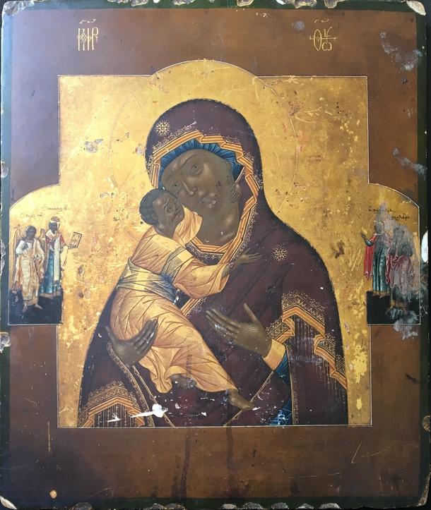 Владимирская икона Божьей Матери.