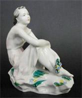 Антикварные статуэтки фарфор